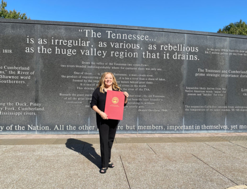Patti Baldini honored by the Tennessee House of Representatives